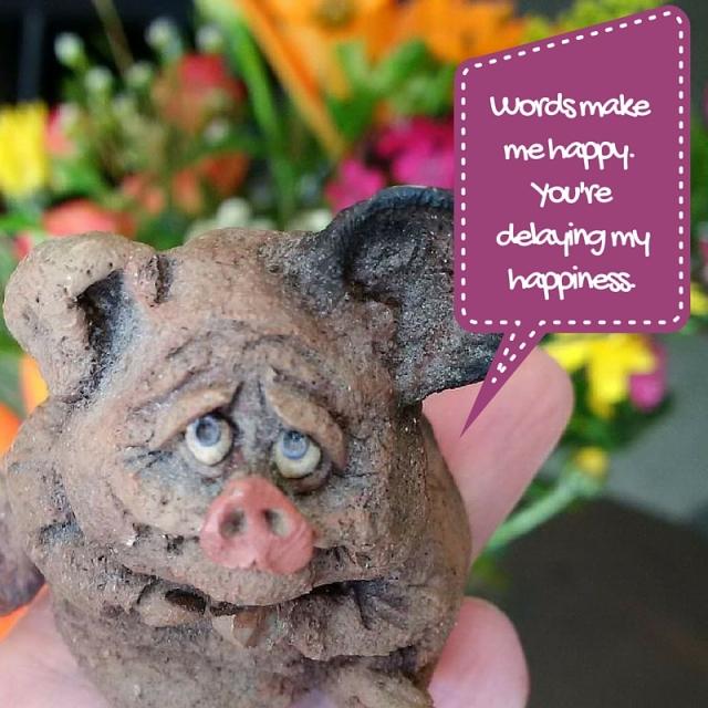 Writer Pig
