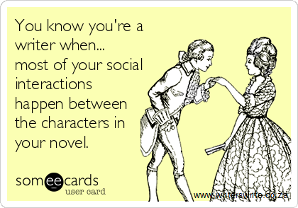 Writers and social media